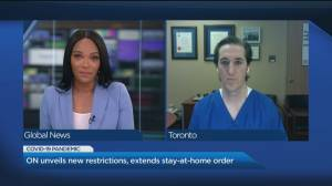 Dr. Isaac Bogoch answers your questions about Ontario's ramped up restrictions (06:39)