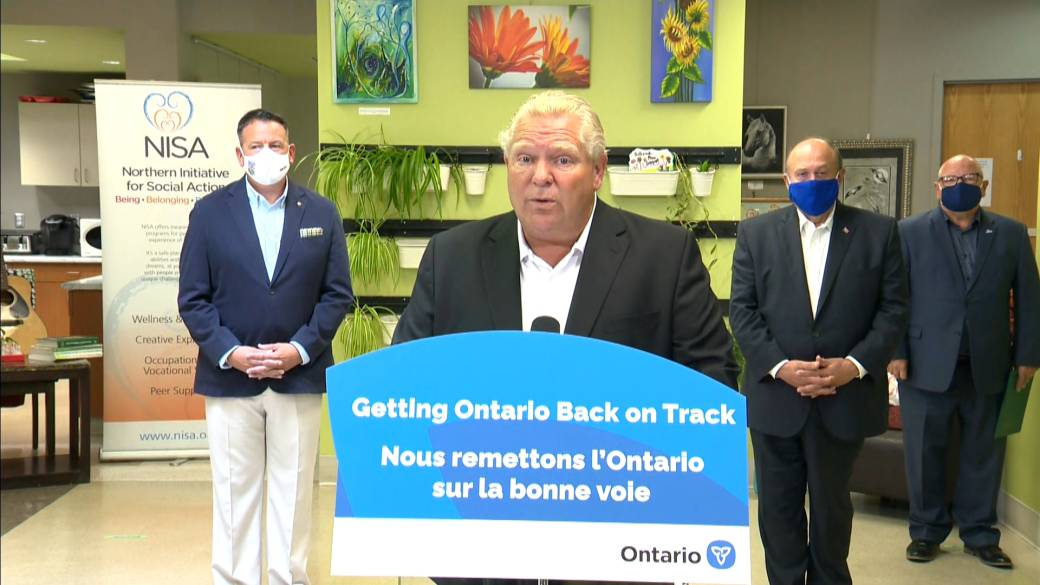 Click to play video 'Coronavirus: Ford calls for more federal fines under Quarantine Act'