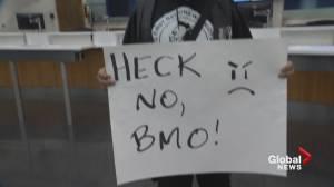 BMO demonstrators demand justice for B.C. Indigenous man and girl