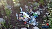Play video: Cleanup crews discover disturbing volume of garbage at Calgary parks, including feces