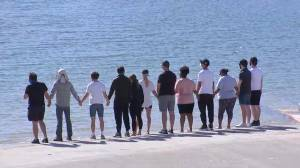 'Glee' cast gather at lake in California where Naya Rivera died