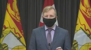 Coronavirus: Additional health measures implemented in schools in New Brunswick's red zones (00:49)