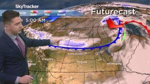 Tuesday snow? April 26 Saskatchewan weather outlook (02:34)