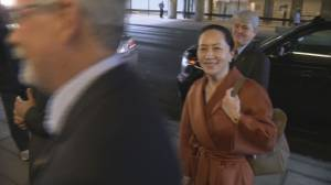Meng Wanzhou arrives in Vancouver courthouse to attend hearing