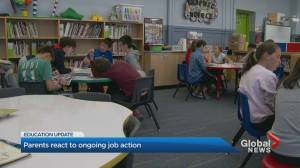 Parents react to elementary teachers' 1-day strike to take place on Monday