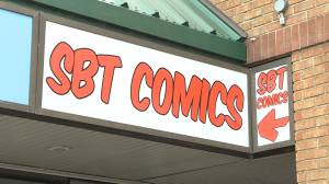 Community supports comic book store after holiday break-in (01:58)