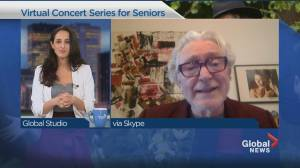 A Christmas concert hopes to bring joy to seniors hardest hit by COVID-19 (03:47)