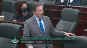 Alberta cabinet ministers slam Premier Kenney for flouting COVID rules (01:52)