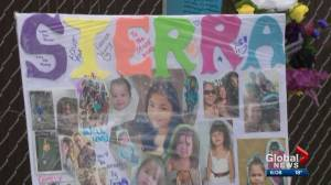 Second-degree murder charge laid in death of 13-year-old Sierra Chalifoux Thompson (01:35)