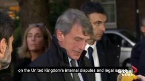 """EU parliament head says """"no progress"""" in Brexit talks"""