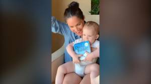 Prince Harry, Meghan Markle share sweet video of son Archie on 1st birthday