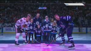Winnipeg Jets families join the fight against cancer