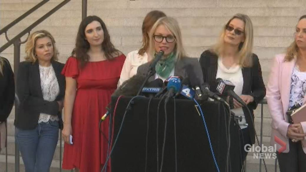 Click to play video: 'Harvey Weinstein accusers say upcoming Los Angeles case will continue the fight'