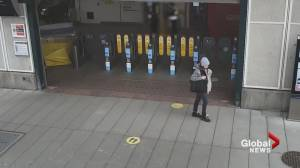 Burnaby RCMP need public's help finding bank robbery suspect (00:31)