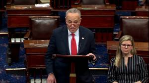 Trump 'settling for a weak' China trade deal: Schumer