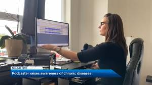 Podcaster in Golden, B.C. raises awareness of chronic diseases