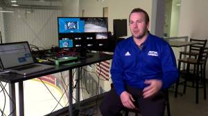 Tracking the Moose: Moving from downtown to the Iceplex (02:25)