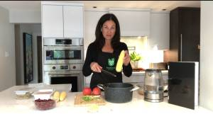 Korey Kealey serves up a Foodland Ontario recipe