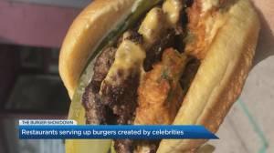 Jason Priestley's signature burger
