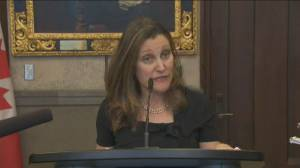 Freeland says report will be released on CUSMA for Canadians, MPs