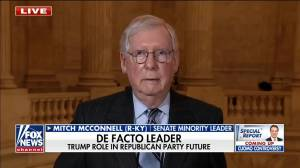 McConnell says he would 'absolutely' support Trump if he's GOP nominee for 2024 election (00:21)