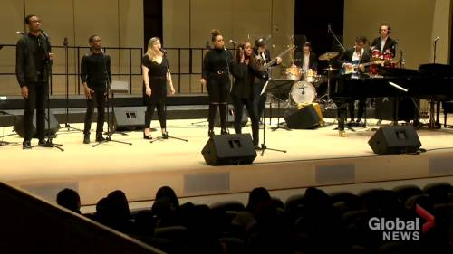 York University hosts concert for Black History Month | Watch News Videos Online