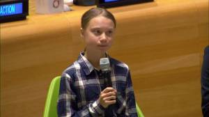 Greta Thunberg tells UN: 'We young people are unstoppable'