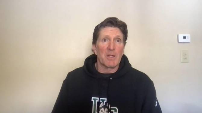 Click to play video: Mike Babcock proud of his coaching career