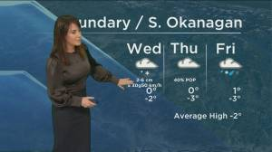 Kelowna Weather Forecast: December 29 (03:38)