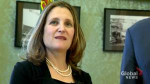 'The people of Saskatchewan sent a message to our government': Freeland