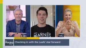 Mitch Marner 'excited' to hit the rink in upcoming NHL season (05:52)