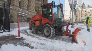 Ottawa shoveling out after November snowstorm