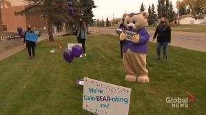 Stollery Children's Hospital Foundation thanks Global Edmonton for support (01:55)
