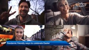 COVID-19 pandemic friendly ways to celebrate Easter (01:34)