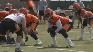 BC Lions get back in action (03:22)