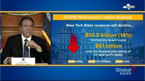 Coronavirus outbreak: Cuomo disagrees with McConnell's idea for states to declare bankruptcy over economic bailouts