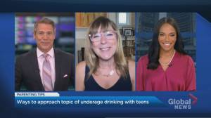 Talking to your teen about underage drinking (04:52)