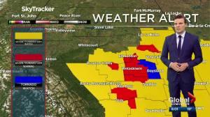Tornado watch issued near Edmonton