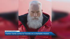 Fashion Santa returns to Toronto for a good cause