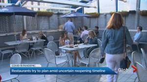 COVID-19: Ontario restaurants try to plan amid uncertain reopening timeline (01:56)