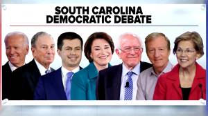 Democrats set to face off in South Carolina in last debate before state primary