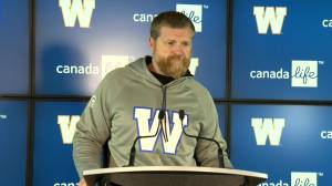 RAW: Blue Bombers Mike O'Shea Media Briefing – Oct. 2