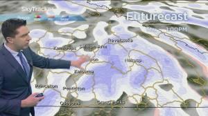 Kelowna Weather Forecast: February 3 (03:32)