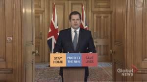 Coronavirus outbreak: U.K. is on 'emergency footing' as efforts continue to battle COVID-19