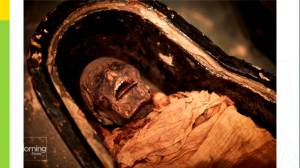 Scientists recreate Egyptian mummy's voice