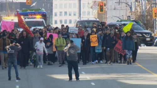 Protests supporting Wet'suwet'en hereditary chiefs continue | Watch News Videos Online