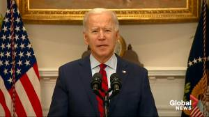 Biden says 'overwhelming majority' of public supports his American Rescue Plan as bill moves to Senate (01:25)