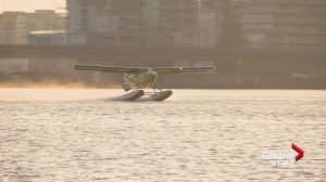 Harbour Air plane with electric engine takes flight in Richmond
