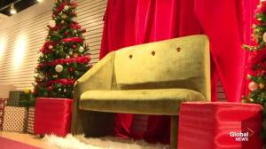 We check out the low-sensory Silent Santa space at the Sunnyside Mall