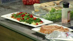 Fabulous fall recipes: Erin Chalmers' whiskey salmon & tomato arugula pasta (09:56)